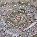 Ein Mandala im Wald (07.04.2020)
